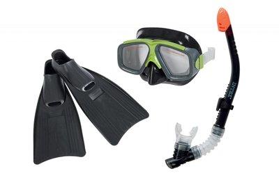 Набор маска трубка ласты 41-45р от 8лет и для взрослого 55959 Intex Интекс