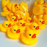 Уточки для ванны,поштучно или набор,игрушки для купания,пищалочки