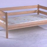 Кровать детская подростковая Нотка.натуральное дерево ольха.