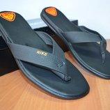 кожаные шлепанцы Nike