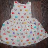 Платье на 5 лет в печеньках