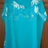 модная красивая блуза 52-56 размера