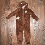 Теплая пижамка на 5-6 лет