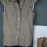 Блузки летние легкие хлопковые / блуза рубашка кофточка футболка туника натуральная хлопок