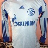 Спортитвная оригинал футбольная футболка Adidas ф.к шальке .9-12 лет .