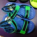Пляжные босоножки 26 р. 15,5 см Ben, сандалии, босоніжки, сандалі, бен, бассейн, резиновые