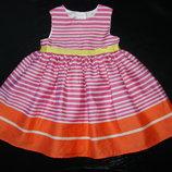 красивое нарядное платье George 6-9 мес до 12 отлично состояние отличное как новое