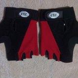 Велоперчатки ETC мужские размер S