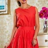 Красивое летнее платье из басиста 830