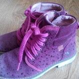 Фирменные ботиночки для девочки р.31