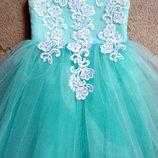 детское нарядное платье 025-17