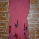 шифоновое летнее платье сарафан женский