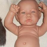 виниловая кукла-младенец Nina Antonio Juan Испания оригинал клеймо 42 см