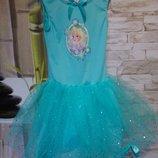 Платье Эльзы Холодное сердце 3-6лет