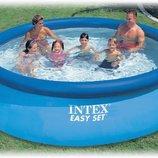 INTEX 28130 366Х76 См. Надувные Бассейны EASY SET POOL