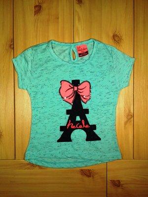 Детская футболка для девочки Париж Beebaby Бибеби
