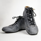 Туфли мужские серые в стиле Дизель