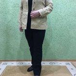 Пиджак вельветовый, бежевого цвета фирмы MAINE Англия 50-56