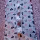 Спальник летний 0-9 мес, текстиль для малышей