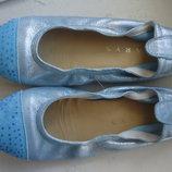 Кожаные балетки Clarys 31-32р.