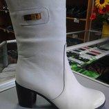 Сапоги ботинки много моделей натуральная кожа 36 37 38 39 40 41
