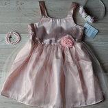 Детское нарядное праздничное платье фирмы Carters