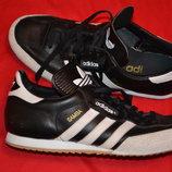 фирменные кожаные кроссовки adidas Samba