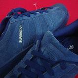 Кроссовки Adidas Superstar натур замша оригинал 42 разм