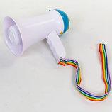 Громкоговоритель складной HW-1R пластик, d-9,8см, l-15,5см, 15W