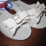 Босоножки нарядные на девочку белые Apawwa М26 р.26-36 босоніжки святкові білі на дівчинку