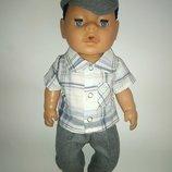 Одежда для пупса мальчика Беби борн