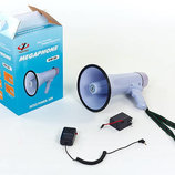 Громкоговоритель складной HW-20B пластик, d-19,5см, l-32,3см, 30W запись аккумулятор микрофон