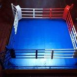 Ринг боксерский на помосте