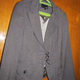 жакет пиджак 42 размер школьный подростковый на рост 160-164
