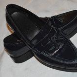 Туфлі броги інспектори шкіряні SuitSupply розмір 40, туфли кожа
