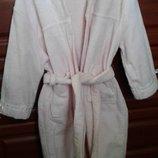 La Perla Италия шикарный теплый махровый банный халат девочке 4А