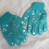 Перчатки для девочки Carters 4-6 лет