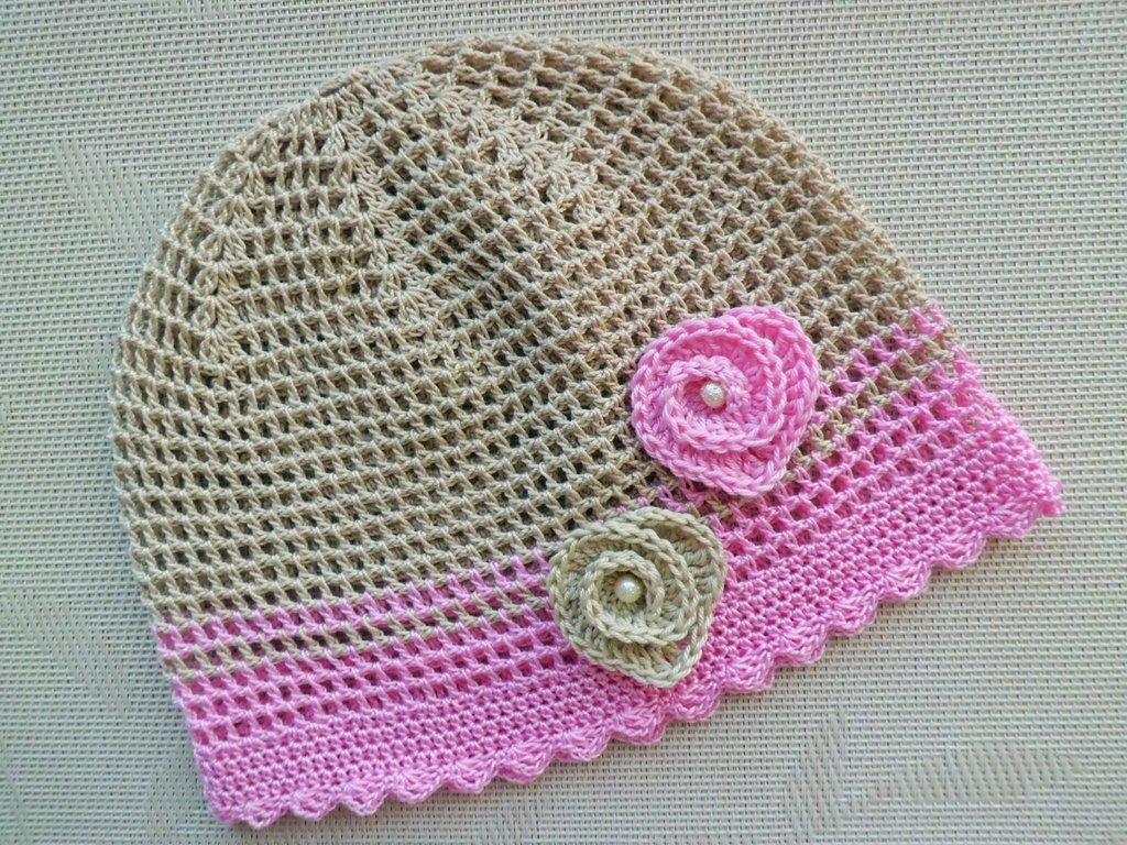 Летняя шапочка Сердечки  160 грн - шапки 01c835ce644b0