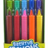 Crayola Карандаши для рисования в ванной 10 штук Bathtub Crayons