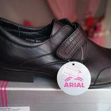 Туфли для мальчика, новые, черные, размеры 35,37