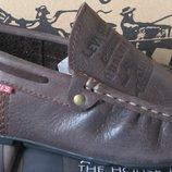 Стильные кожаные мужские мокасины Levis весна лето осень туфли Левайс