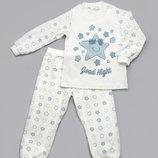 Пижама детская для мальчика 2-4 - Звезды