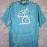Новая Яркая вело футболка велосипедка с карманом BAUHAUS XXL