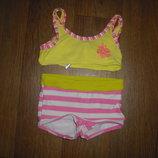 Раздельный купальник для девочки 1-1,5 года