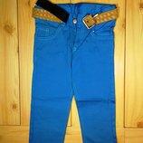 Детские котоновые брюки для мальчика рр. 92-122 3 цвета Beebaby Бибеби
