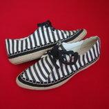 Туфли мокасины Clarks 36 размер