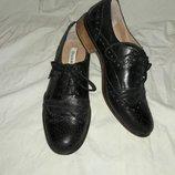 Туфли броги кожаные dune 38размер