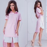 Платье рубашка 42- 52 р-р