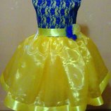 Для юных украиночек красивые платья для любого торжества.