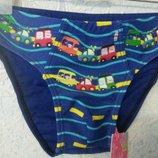Плавки для купания на мальчика Машинки 6 мес.-5 лет